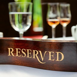 Reserving a Table