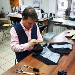 At the Tailor's
