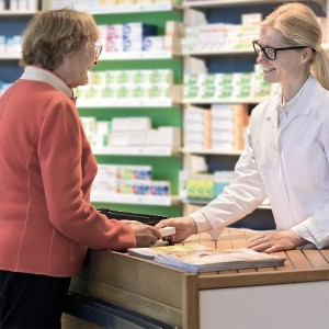 At the chemists