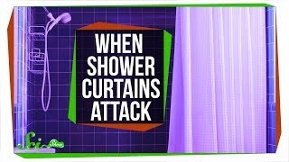 Why Your Shower Curtain Is so Annoyingly Clingy